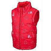 Junior Padded Reversible Gilet - Pink
