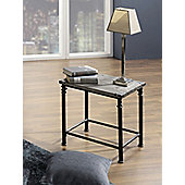 Urbane Designs Side Table - 43 cm H x 45 cm W x 37cm D