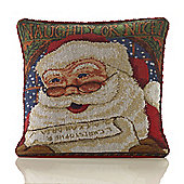 Christmas HoHoHo Tapestry Cushion - 46x46cm