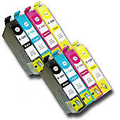 8 Chipped Compatible Epson Stylus Apple T1291-4 (T1295) Inks