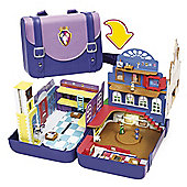 Sofia the First Royal Prep Academy Backpack Playset