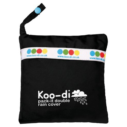 Koo-Di Double Raincover Grey