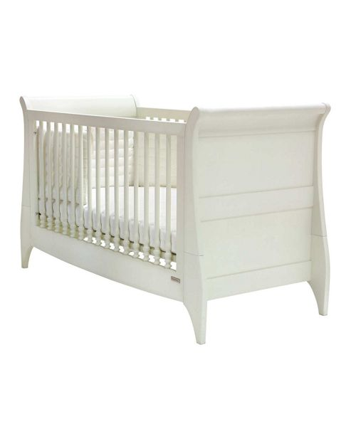 Mamas & Papas - Orchard Sleigh Cot/Toddler Bed - White