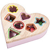 Teamson EverEarth Heart Shape Sorter