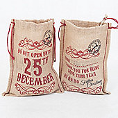 Christmas Gift Bags (set of 2) option 2