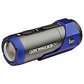 iON Air Pro 2 Sports Action Video Camera, Black/Blue, 14MP, Waterproof, Wi-Fi
