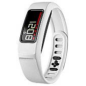 Garmin Vivofit 2 Activity Tracker Wristband w/ HRM, White