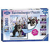 Ravensburger Disney Frozen Spot the Difference, XXL100 Puzzle