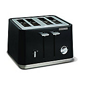 Morphy Richards 240002 Aspect Steel 4 Slice Toaster - Black