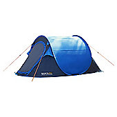 Regatta 2-Man Malawi Outdoor Pop-Up Tent Blue