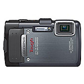 "Olympus TG-835 Digital Camera, Black, 16MP, 5x Optical Zoom, 3"" LCD Screen, SD Card & Hard Case"