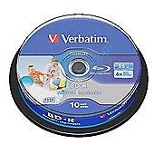 Verbatim DataLife Blu-ray Recordable Media - BD-R, 10 Pack