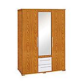Premier Housewares Hudson 3 Door Wardrobe