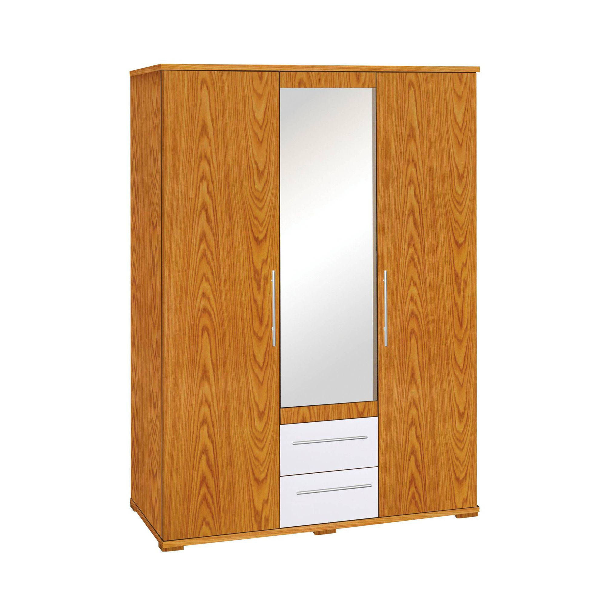 Premier Housewares Hudson Three Door Wardrobe at Tesco Direct