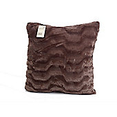 Dreamscene Luxuriously Soft Faux Fur Cushion Cover 43x43cm Unfilled
