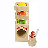 Bigjigs Toys BJ652 Egg Tower