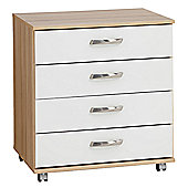 Ideal Furniture Regal 4 Drawer Chest