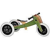 Wishbone 3-in-1 Bike (High Gloss Green)