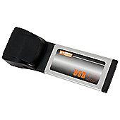 4 x USB 2.0 Port Express CardBus