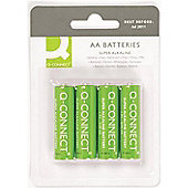 Q-Connect AA Batteries (Pack of 4)