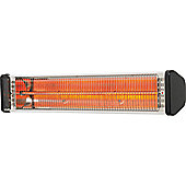 CasaFan CasaTherm S1800 Infrared Heater in Silver and Black