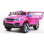 12V DK F000 BMW X5 Style Ride on Car Pink