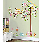 Woodland Tree, Very Large Wall Stickers