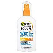 Garnier Ambre Solaire Wet Skinspf 30 200Ml
