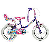"Sunbeam Mermaid 14"" Girls Bike, Designed by Raleigh"