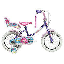 """Sunbeam Mermaid 14"""" Kids' Bike, Designed by Raleigh"""