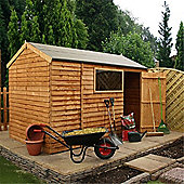6ft x 10ft Reverse Overlap Apex Shed