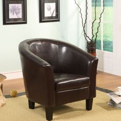 Birlea Chester Tub Chair - Brown