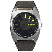 Bench Gents Leather Strap Watch BC0382BKBK