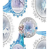 Disney Frozen Girls Bedroom Wallpaper - Elsa Scene