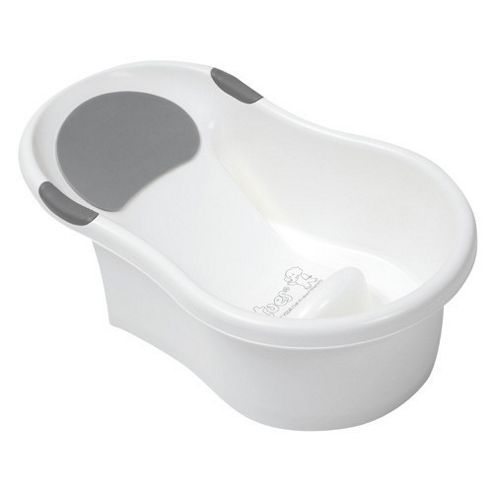 buy tippitoes mini bath white with silver trim from our bath tubs range t. Black Bedroom Furniture Sets. Home Design Ideas