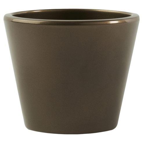 Ivyline Basic Plant Pot Bronze