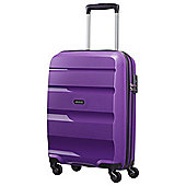 American Tourister Bon Air Hard Shell 4-Wheel Suitcase, Deep Purple Small