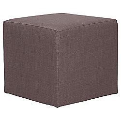 Stanza Fabric Cube Mocha