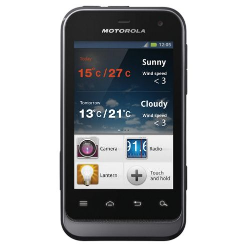 SIM Free Unlocked Motorola DEFY™ Mini Black