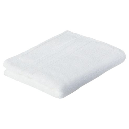 Tesco 100% Combed Cotton Hand Towel White