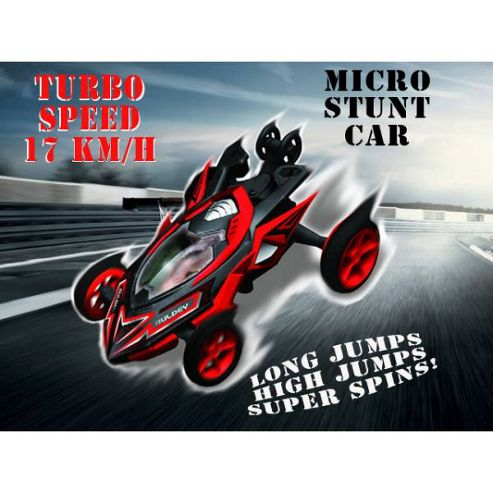 Auldey High Speed Stunt Micro RC Car Black