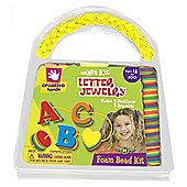 Foam Jewellery Kit Letters