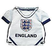 Shirt Gym Sack - 3 Lions - White