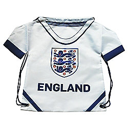 Shirt Gym Sack - 3 Lions - White