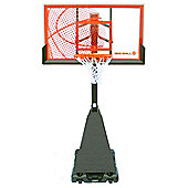 Bee-Ball ZY-021 Optimum Basketball Stand with Chain Net, Breakaway Rim and Pro Style Backboard