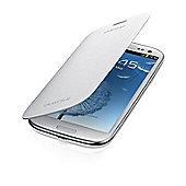 Samsung Original Galaxy SIII Flip Case Ceramic White