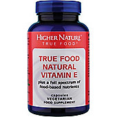 Higher Nature True Food Vitamin E Natural 30 Veg Tablets