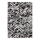 Esprit Madison Anthracite Woven Rug - 80 cm x 150 cm (2 ft 7 in x 4 ft 11 in)