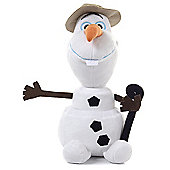 "Disney Frozen 10"" With Hat & Walking Stick"
