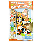 Mini Paint By Numbers - Kitten